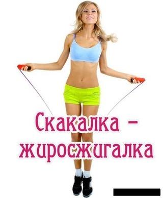 прыгая на скакалке на сколько можно похудеть