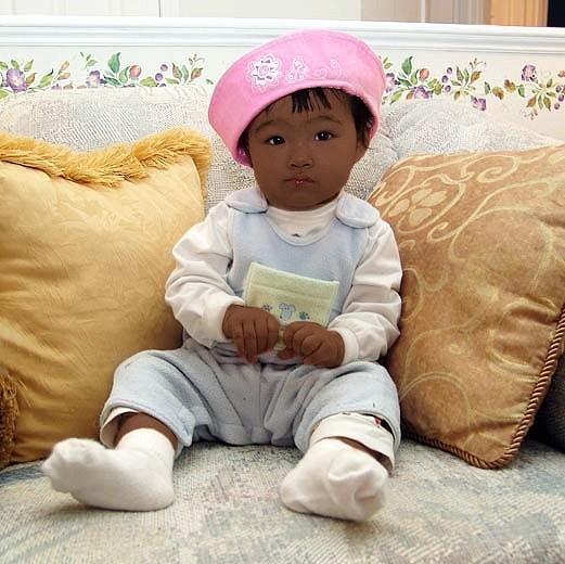 Ребенок китайца и негра