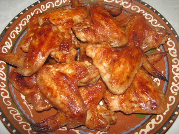 как приготовить вкусные крылышки в духовке рецепт с фото