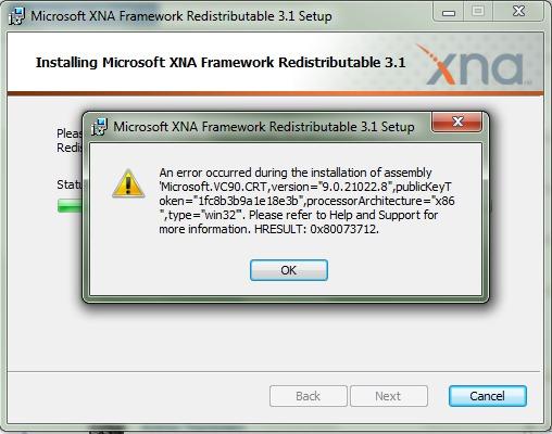 xna framework 3.1