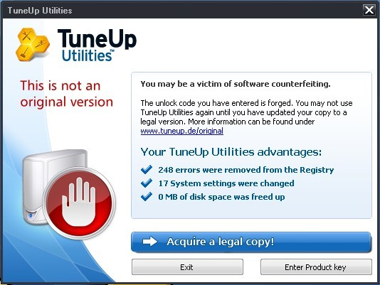 Помогите найти TuneUp Utilities 2010 Product Key.