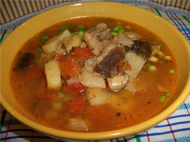 Первые блюда из утки рецепты с фото
