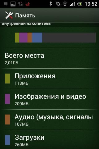 Память телефона заполнена андроид