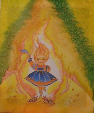 Картинки к сказкам бажова огневушка поскакушка