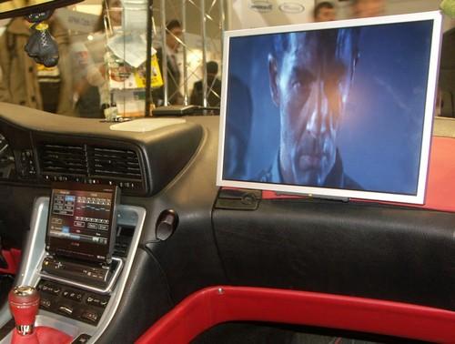 Монитор в машину своими руками