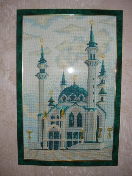 Голубая мечеть - схема в