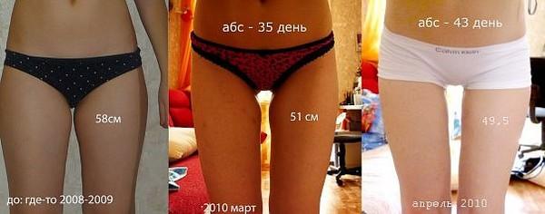 На сколько килограммов можно похудеть за 1 месяц?