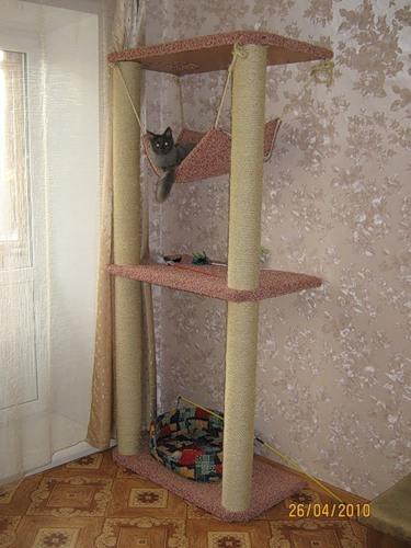 Домик для кошки своими руками из досок