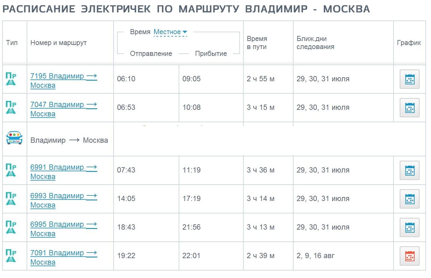 быстро расписание курского направления электричек на москву получила