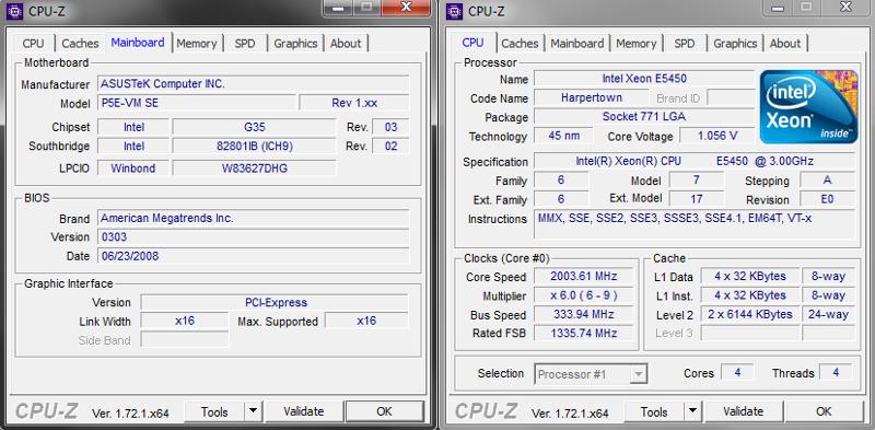 Ответы Mail ru: Asus P5E-VM SE будет ли на ней работать проц