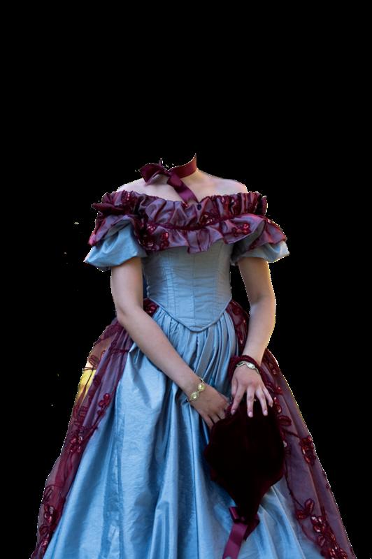 Рамка для фото старинные платья