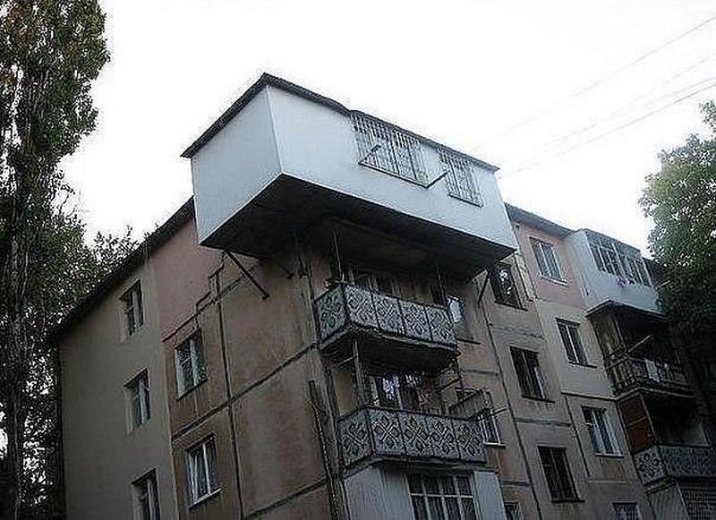 Пристройка балкона gsps.ru.
