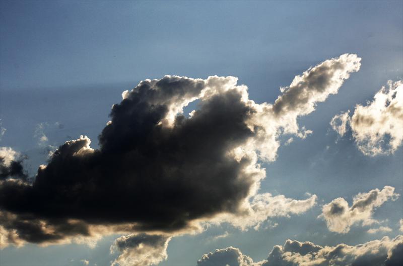 радостью стану прикольные облака фото какое