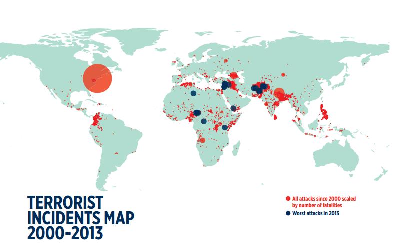 essay terrorism threat global peace