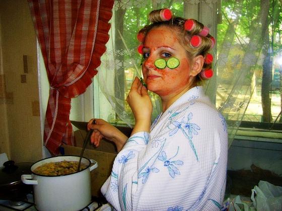 Жена в холатике фото фото 201-109
