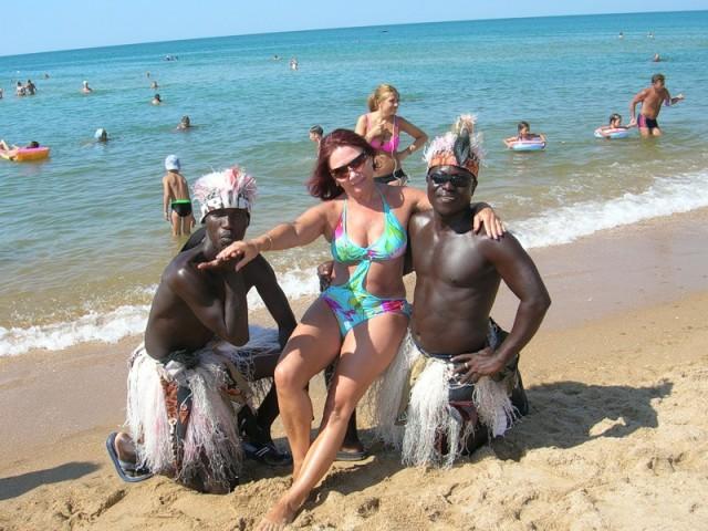 хочет фото с неграми на лазаревском пляже гнойным содержимым
