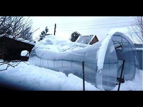 Как построить теплицу для зимнего выращивания своими…