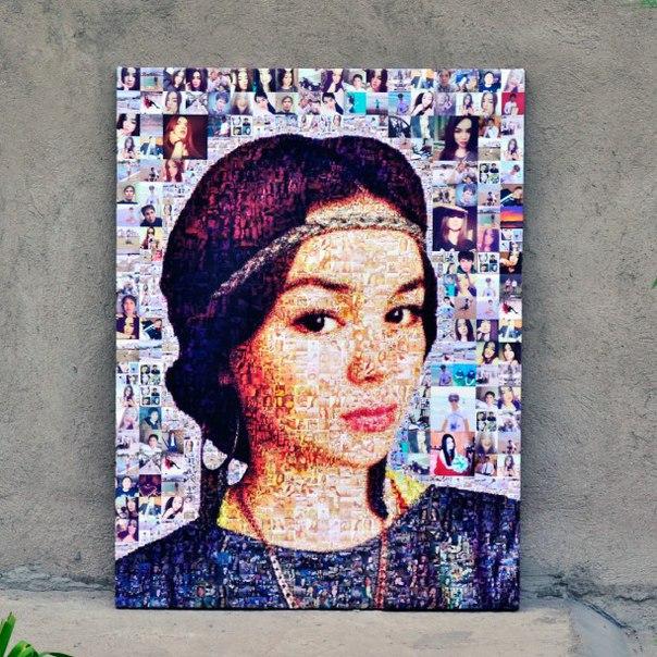 добавила, как сделать портрет из фотографий на компьютере устраняем