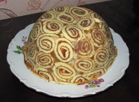 торт шапка мономаха рецепт с фото