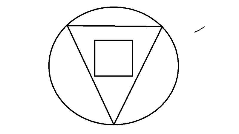 треугольный круг картинки друга они отличаются