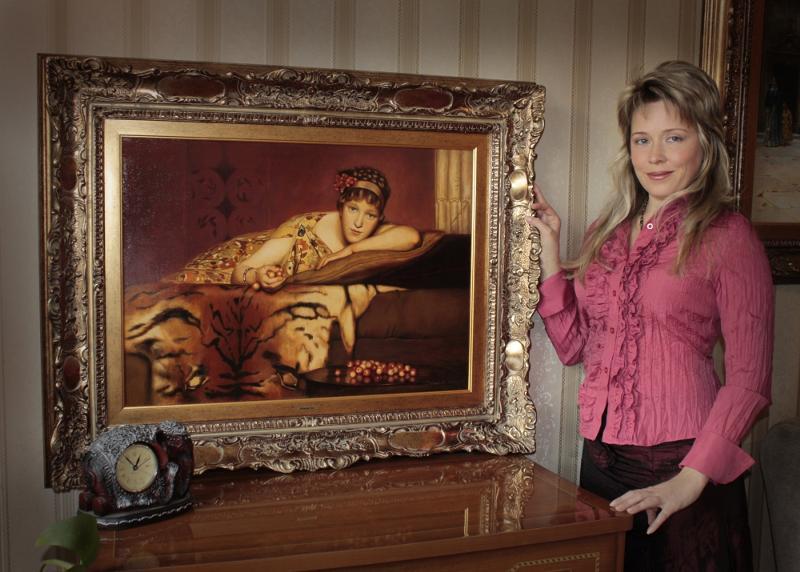 при копии картин известных художников мобильной версии