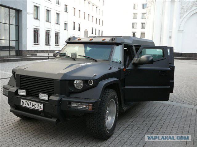 Автомобиль ГАЗ-2975 «Тигр» (GAZ-2975 «Tiger» vehicle ...