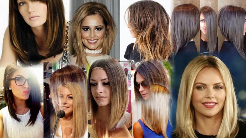 Прическа каре на длинные волосы