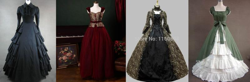 modern victorian dresses - 1747×578
