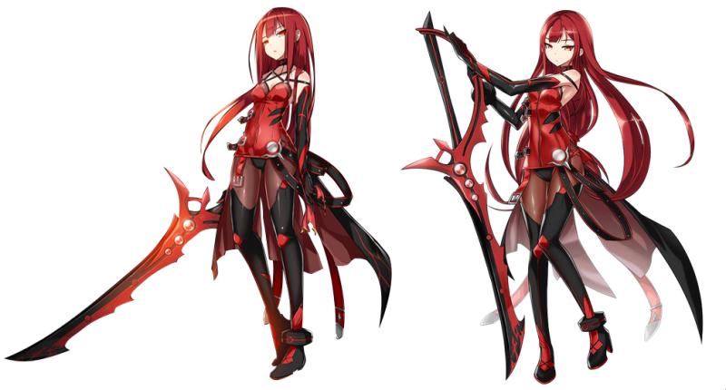 фото красных демонов девушек