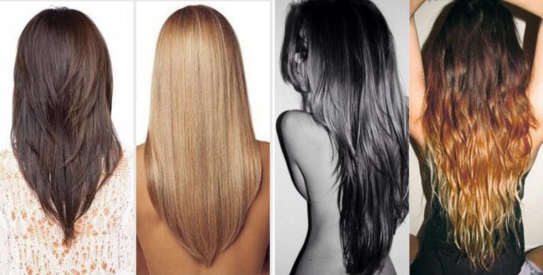 Ответ на средние волосы