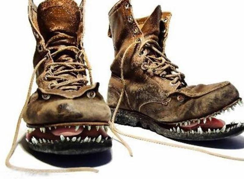 Картинка ботинки смешные