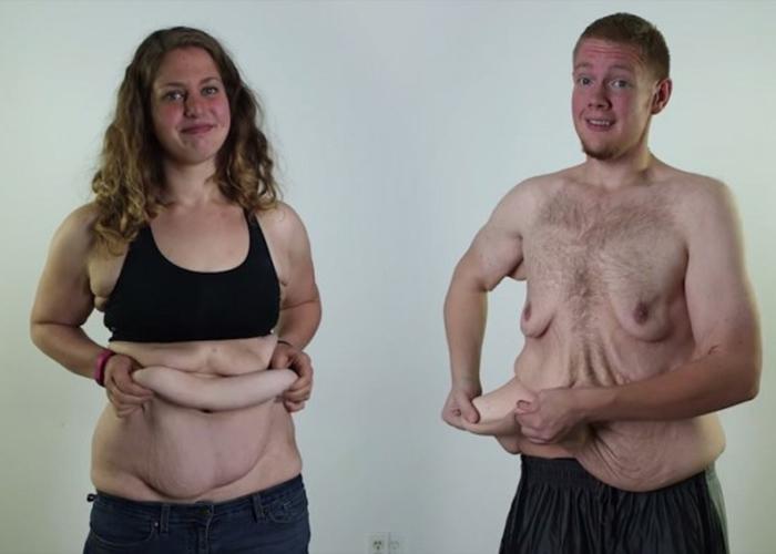 Как избежать обвисание груди при похудении