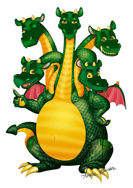 двенадцатиголовый дракон картинки