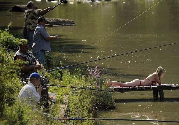 в рыбалке главное не улов а