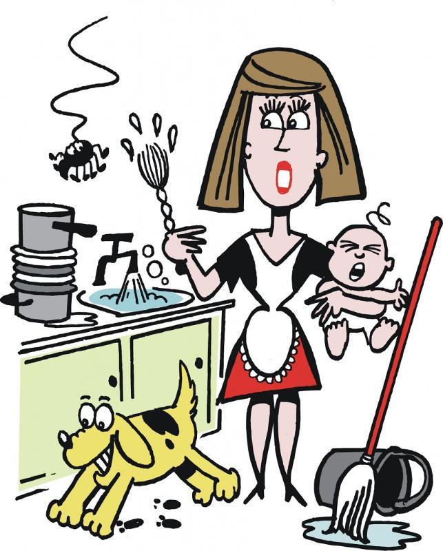 Мама домохозяйка прикольные картинки, подруге прикольные
