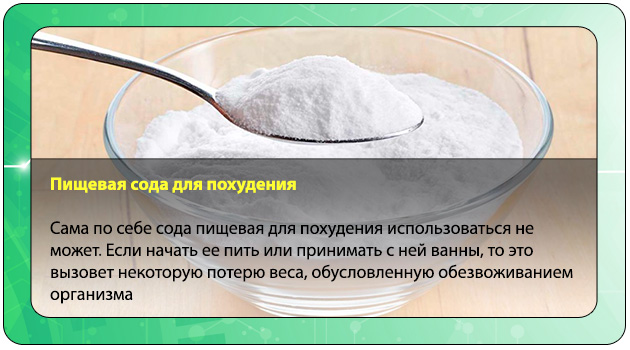 Сода свойства в похудении