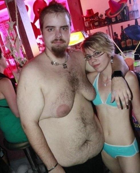У моей девушки хуй