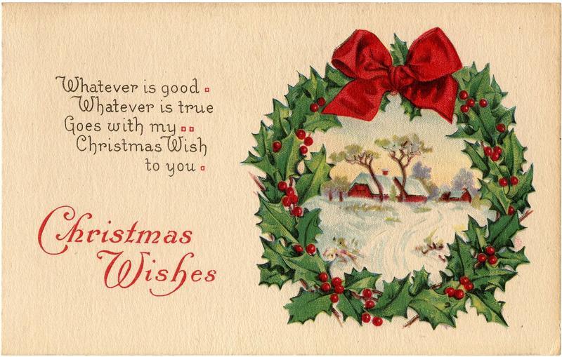 Проект рождественская открытка по английскому