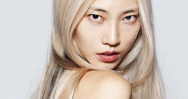 пространством убедившись, китайки блондинки фото отличается молодая