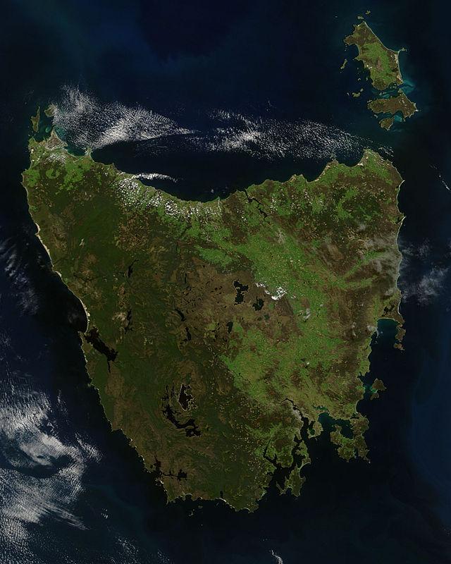 или остров тасмания картинки на карте оладушки
