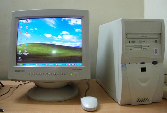 старый компьютер фото