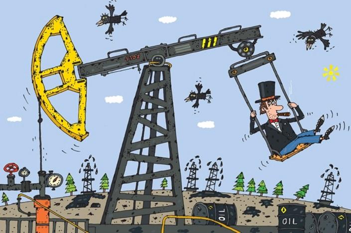 Смешные картинки про нефтянников