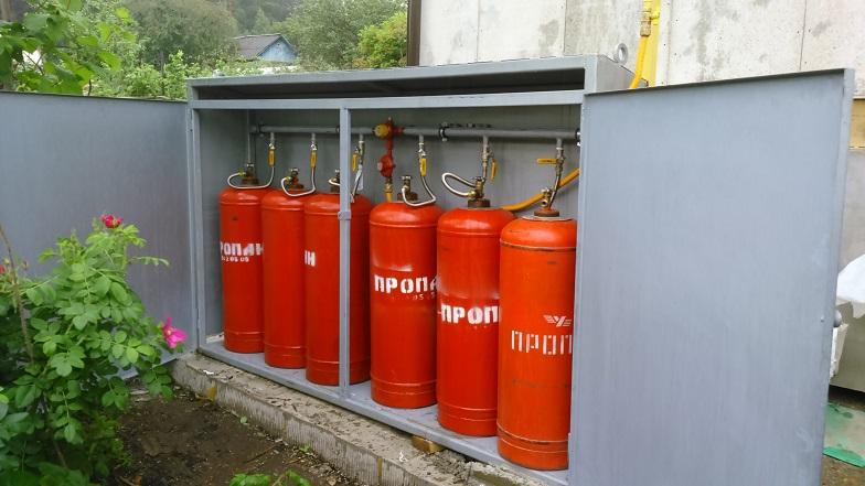Информация для жителей пользующихся газобаллонными установками