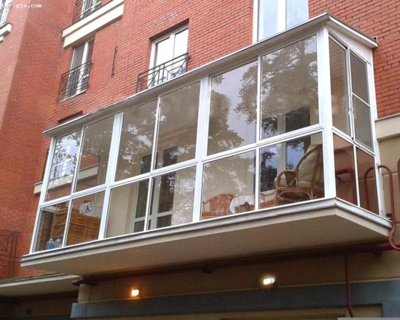 Монтаж панорамного остекления балкона в красноярске - объявл.