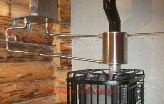 Теплообменник самоварного типа в печь теплообменник 800 тгк-1 0-1 0