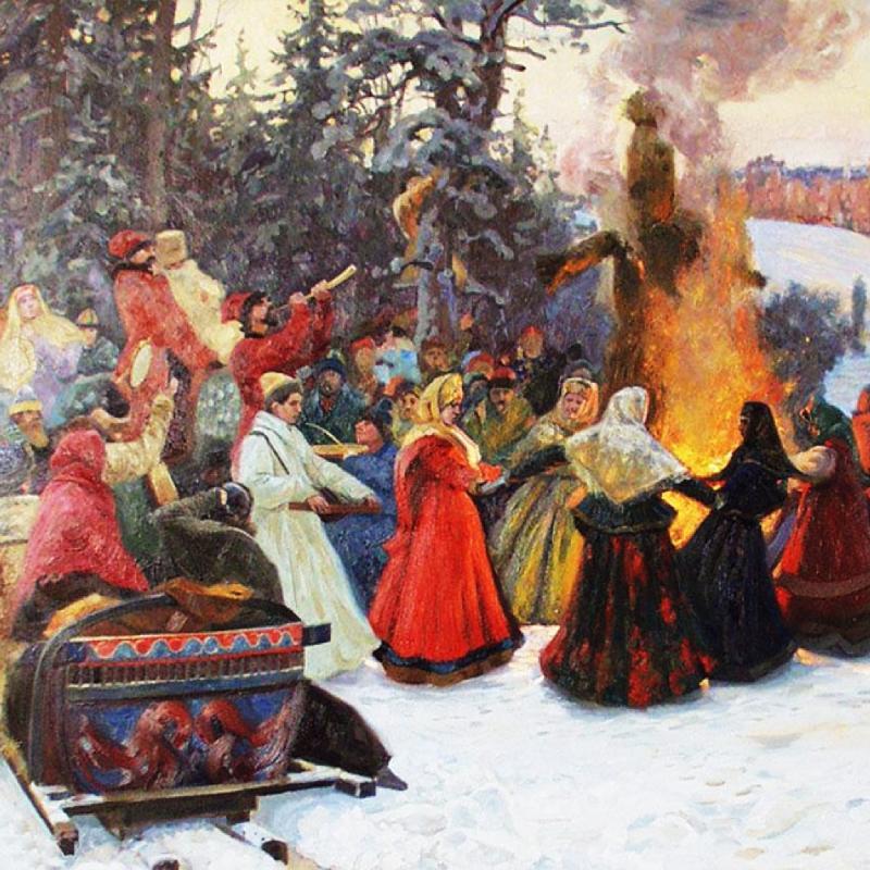 Праздник русской зимы картинка