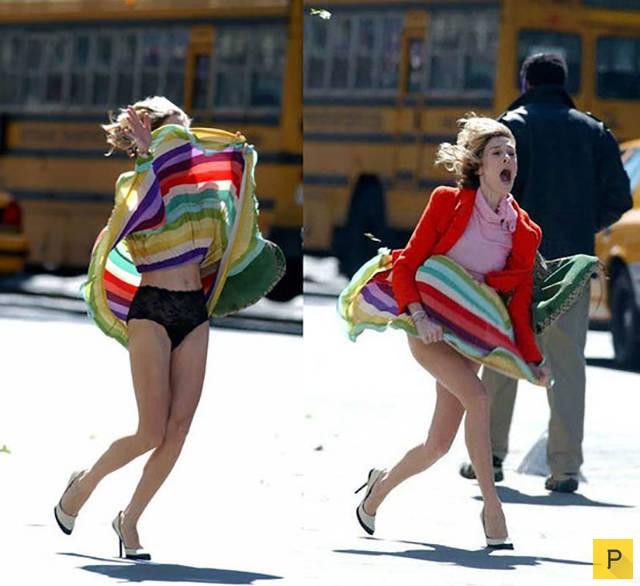 Видео голых ветер поднял юбку девушке фото видео