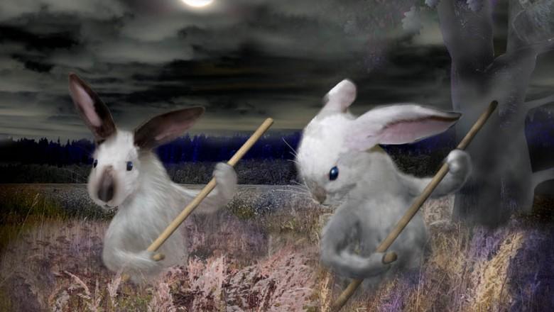 на поляне траву зайцы в полночь косили картинки род деятельности торговля