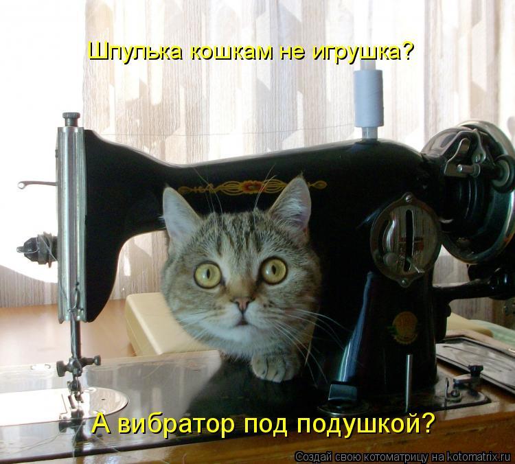 Открытку для, швейная машинка смешная картинка