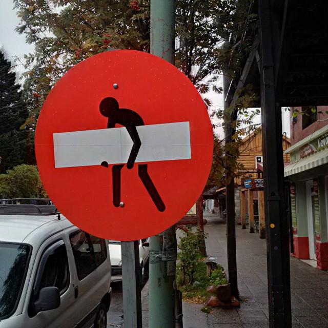 Прикольные фотографии знаков просто